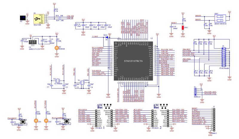 STM32F1 Easy | ATCKEY Electronics Co , Ltd